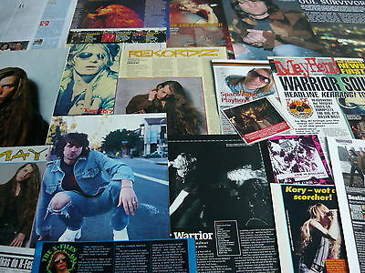 Warrior Soul - Magazine Cuttings Collection (Ref T20)
