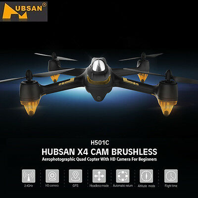 Hubsan x4 H501C Brushless RC Quadcopter Drone 1080p HD Caméra GPS Altitude Hold