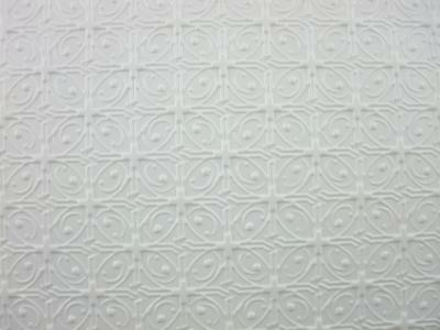 Dolls House Miniature Large Circle Moulded Vinyl Victorian 'Tin' Ceiling Sheet