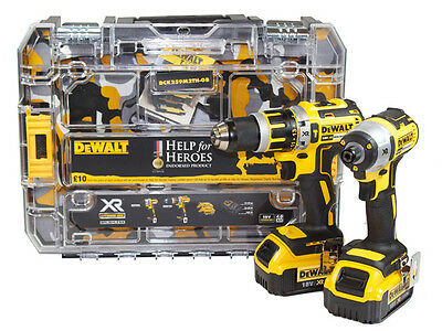 DeWalt Help For Heroes Brushless Twin Pack 18V 2 x 4.0Ah Li-Ion