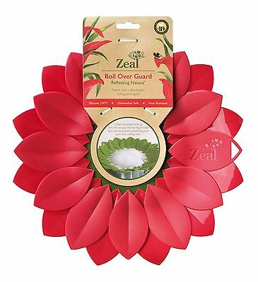 Zeal Boil Over Guard Reflecting Nature Range, Large Petal Red