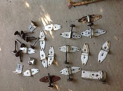 Vintage Lot gate Barn door  hinges hardware