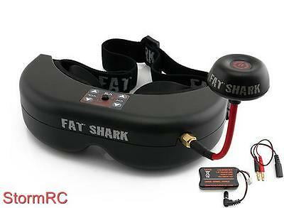 Fatshark Teleporter V5 Headset FPV Goggles w/ Head Tracking 5.8GHz NexWave RX UK