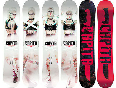 Capita Snowboard - DOA Defenders of Awesome All-Mountain Hybrid Camber - 2017
