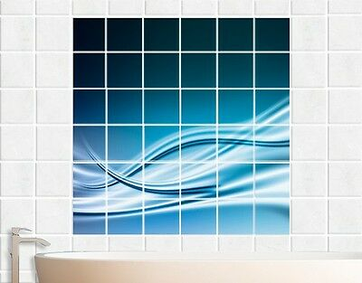 Tile Mural Abstract Design