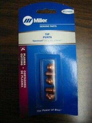 Miller Genuine Tips for Plasma Spectrum 375 & 375 X-treme - Qty 5 - 176656