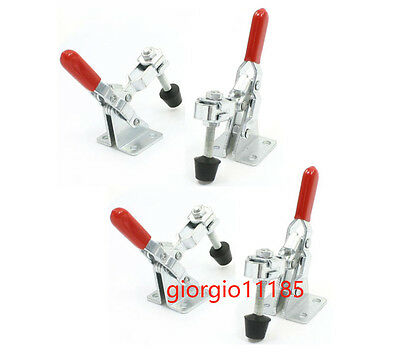 4 pcs 101A 50Kg 110 Lbs Quick Holding Vertical Type Toggle Clamp New