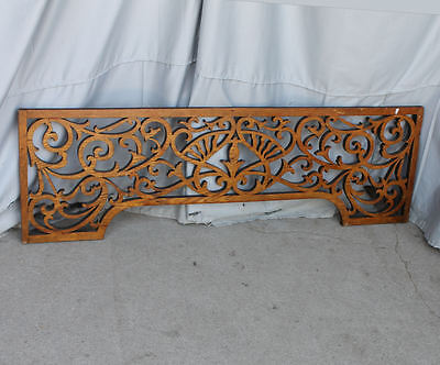 Antique Victorian Oak Fretwork - Detailed and Fancy