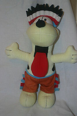 "Collectable 15"" Odie - Garfield Dog - Dressed as an Indian - Plush Soft Toy"