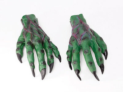 Horror Hands Prosphetics Accessory for Halloween Monster Zombie Fancy Dress