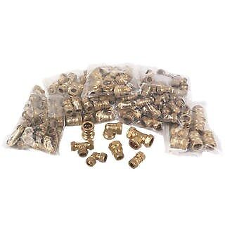 100 x Assorted Plumbing Compression Fittings 15-22mm C5PD#