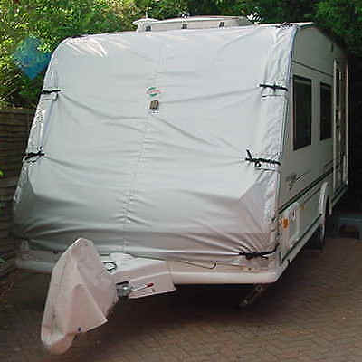 """Caravan Towing Front Cover. Touring Van Chip Protection: 7' 3"""" width by 8' drop"""