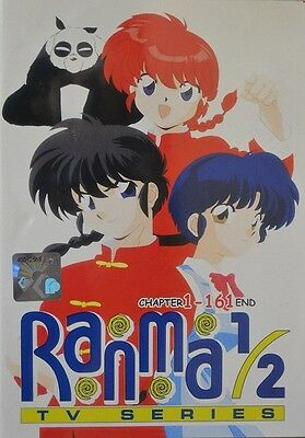 RANMA 1/2 Complete Box | TV S1-S7 | Eps.1-161 | All English Audio! | 8 DVDs