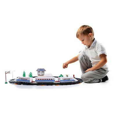 New! Dimple Express Train Tracks Set with 1 Battery Operated Train Car DC11853