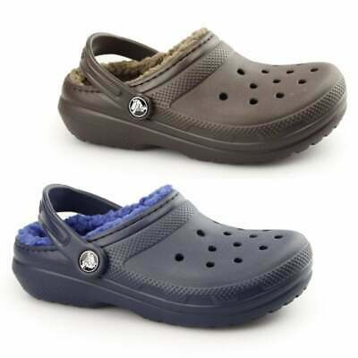 Crocs CLASSIC WINTER Kids Boys Girls Winter Slip On Warm Lined Croslite Clogs