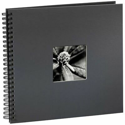 Fine Art Spiralbound Photo Album, 36cm x 32cm 50 Pages, Grey
