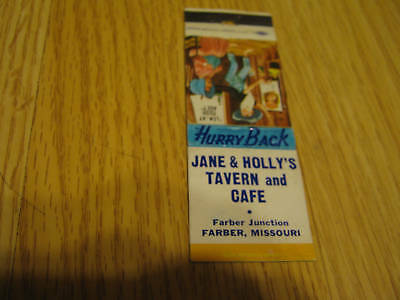 """Jane & Holly's Tavern &Cafe Farber MO """"Lem-At Your Age"""""""