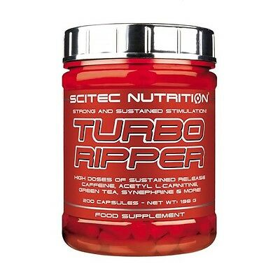 SCITEC NUTRITION TURBO RIPPER strong fat burner weight loss