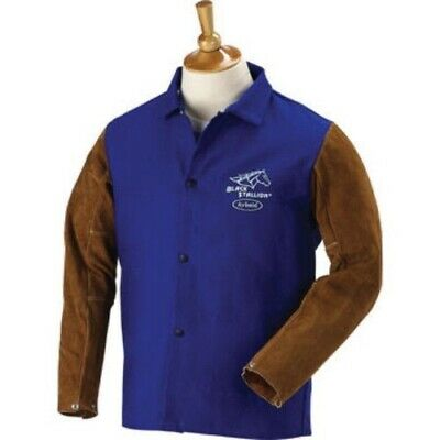 "Revco 9 oz. FR and Cowhide Welding Coat - 30""  FRB9-30C"