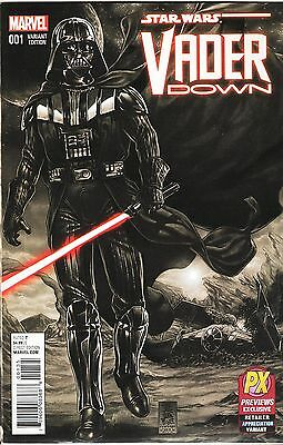Star Wars: Vader Down No.1 / 2015 PX Previews Exclusive Retailer Variant Cover