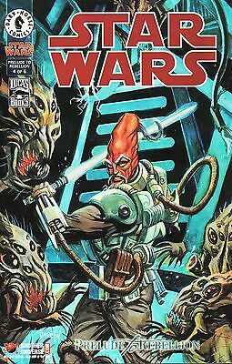 Star Wars No.4 / 1999 Another Universe.com Holofoil Chrome Variant Cover Edition