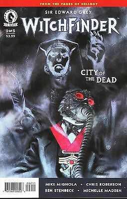 Sir Edward Grey Witchfinder: City of the Dead No.2 / 2016 Mike Mignola