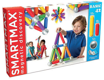 SMARTMAX - 42 Piece - Magnetic Discovery Toy *NEW*