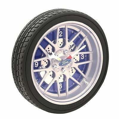 Licensed Ford LED Tyre Wall Clock