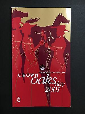 Race Book V.r.c Oaks Meeting 2001