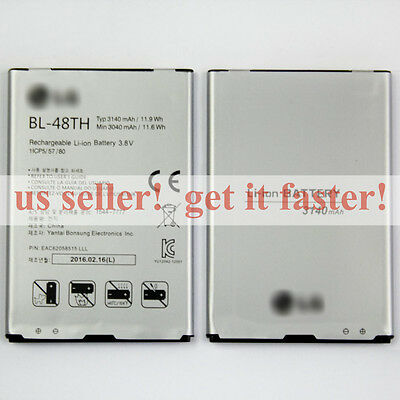 NEW BL-48TH 3140mAh Battery For LG Optimus G Pro E980 E985 E940 E977 F-240K