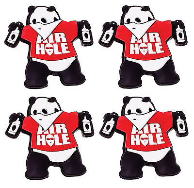 Airhole Snowboard Stomp Pad - Panda Small - Boot, Grip, Tool, Black, Red, White