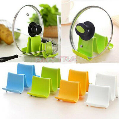 Pot Pan Spoon Lid Storage Stand Holder Rack Utensil Cooking Tool Kitchen Wave WB