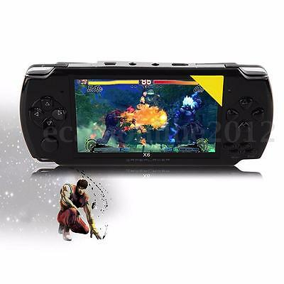 """3Color 4.3"""" Screen 8G 32 Bit Portable Handheld Game Console 1000+ Games Built-in"""