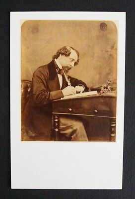 Charles Dickens, National Portrait Gallery Postcard B831
