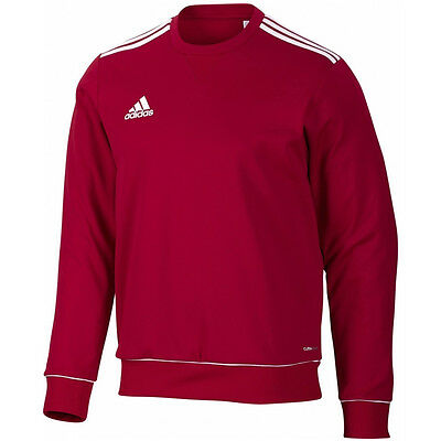 adidas Core 11 SWT TOP Herren Fußball Sweatshirt Trainings Pullover Rot V39401