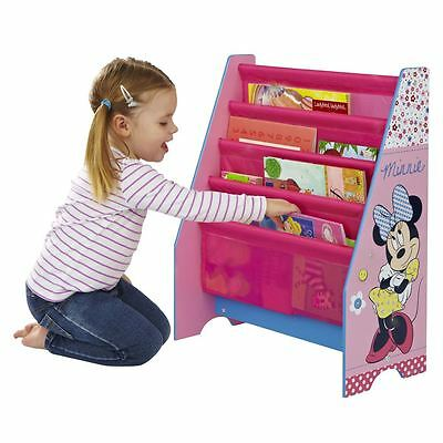 Disney Minnie Mouse Sling Bookcase Kids Furniture Storage 100% Official