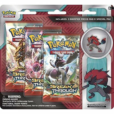 Pokemon TCG: Zoroark Triple Pack CDU (with pins) Trading Card Game