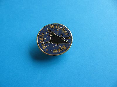 Moorhouse's Pendle Witches Brew Beer Pin badge, VGC. Unused.