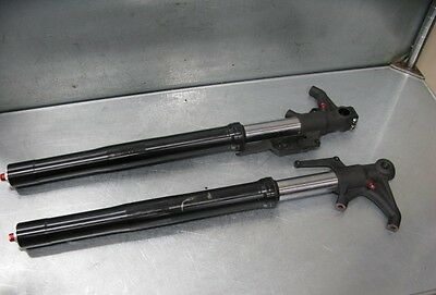 Triumph Street Triple 675 16 2016 Front Forks Fork Left Right Straight 63 Miles