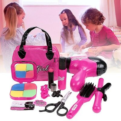 Fashion Children Baby Kids Girls Pretend Play Makeup Kit Toys Gift TXWD