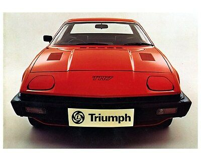 1976 1977 Triumph TR7 Factory Photo ca5936