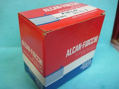 ALCAN FIOCCHI empty 12 GA  SHOTGUN SHELLS shot shell  box ORIGINAL AMMO MADE USA