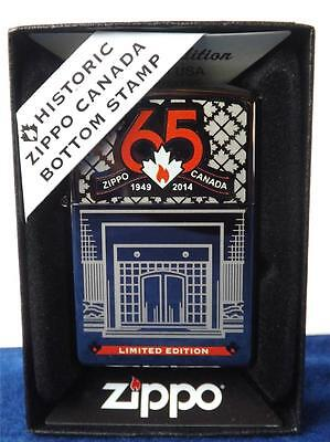 Zippo Lighter 65Th Anniversary Canada Limited Edition Niagara Falls Bottom Stamp