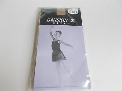 Dance Tights Danskin In Motion Girls Footed Toast Size Int Style 387