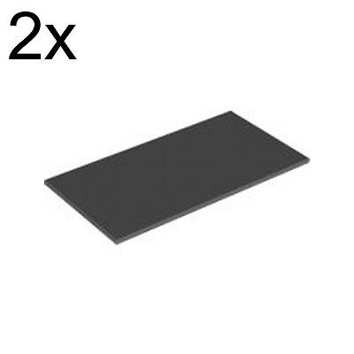 Road 8x16 LEGO Smooth Finishing TILE 90498 Green DBG Choice Set of 2 Black