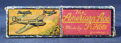 American Ace Fr Holtz Germany Harmonica Antique With Original Box Estate Sale