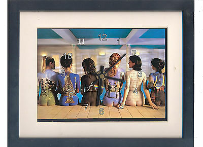Pink Floyd. High quality framed print and clock. Music memorabilia.