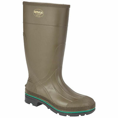 Servus Northerner 75120-12 Non-Insulated Knee Boot, NO 12, Men's, Olive Green, P