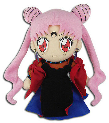 Sailor Moon R Chibiusa Black Lady Plush Toy New W/ Tag Official GE Animation