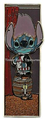 DISNEY Pin LE 300 WDI - Stitch on Dynamite - Mansion Stretching Room
